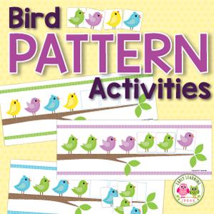 birds patternning activities