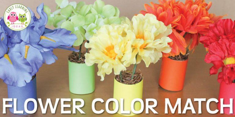 Flower Activities for Kids: Flower Fine Motor Fun