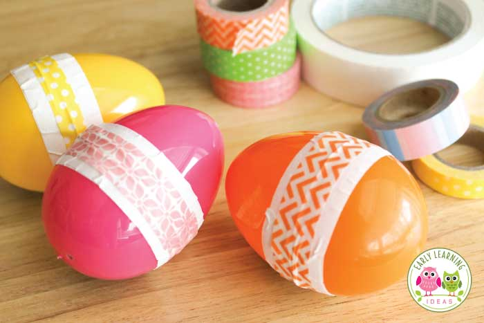 Here are many ways you can use simple plastic eggs in learning activities for preschoolers. Ideas include music and movement, counting, sorting, sensory play and STEM and so much more. These activities are perfect additions to your bird theme, Easter theme, spring theme unit and lesson plans in your preschool, pre-k and kindergarten classroom. Perfect for literacy centers, math centers, fine motor centers, and STEM centers. Get out those plastic Easter eggs and start learning #preschool