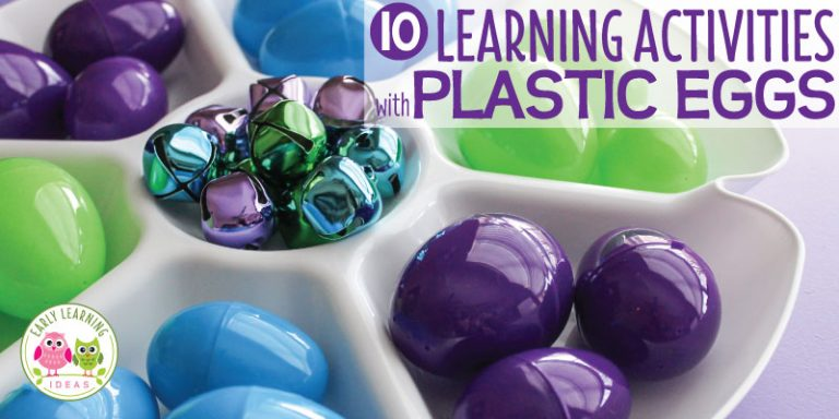How to Use Simple Plastic Eggs to Make Learning Activities for Preschoolers