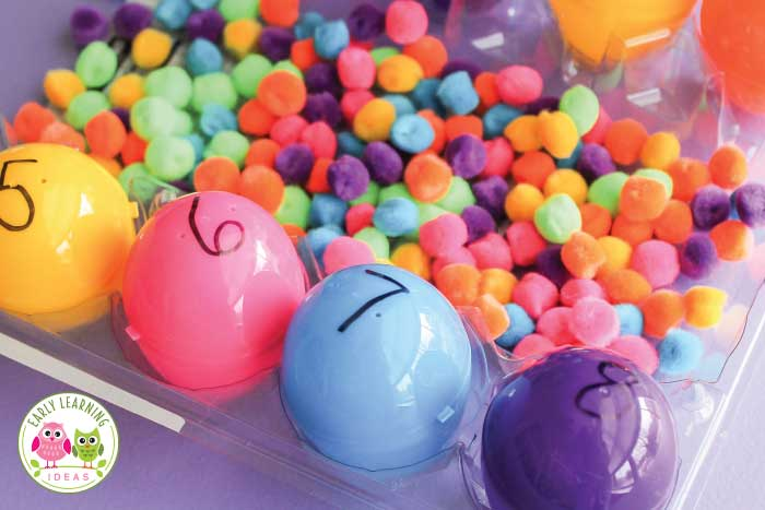 How To Use Simple Plastic Eggs To Make Learning Activities