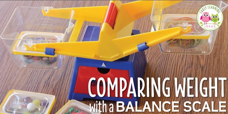Measurement for Kids: Comparing Weight with a Balance Scale