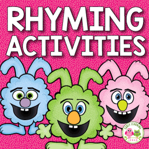 rhyming bunny activity