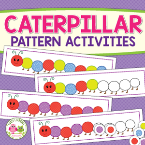 caterpillar patterning activities