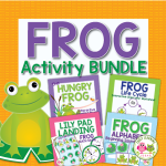 Frog activities for preschool and pre-k