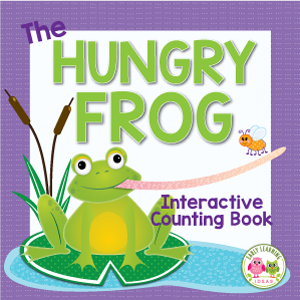 frog interactive counting book