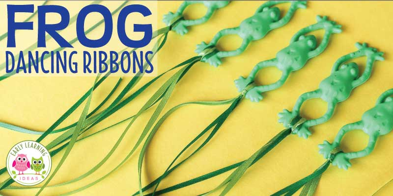 Make Frog Dancing Ribbons for Your Kids
