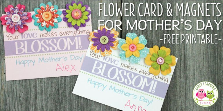 A Mother's Day Craft and Card