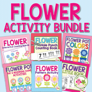 flower activity bundle