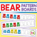 patterning activity printable for bear counters