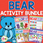 bear activities for preschool and pre-k