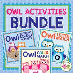 owl activities for preschool