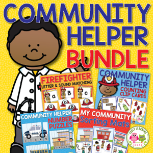 community helper activity bundle