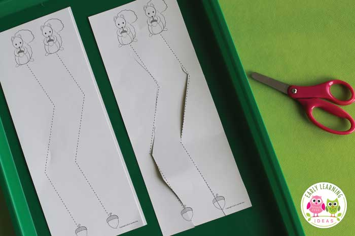 image about Free Printable Cutting Activities for Preschoolers referred to as How towards Effort and hard work upon Scissor Expertise with this Cost-free Reducing