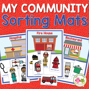community helper and my community sorting bundle