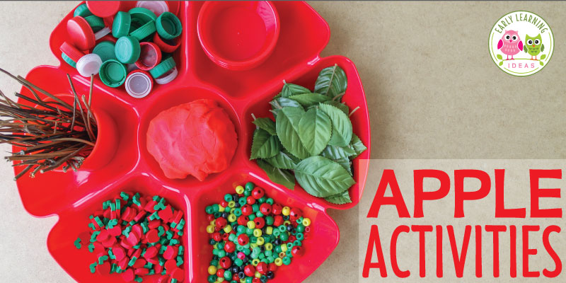 Apple Activities for Kids: Material Ideas for an Invitation to Play