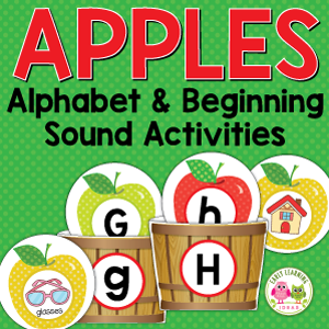 apple beginning sound activity