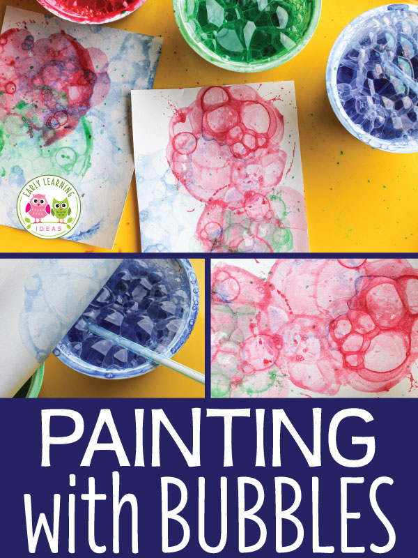 The Best Art Activities For Kids How To Paint With Bubbles Early