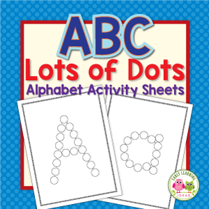 alphabet activities for preschool and pre-k