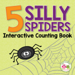 5 silly spider interactive book