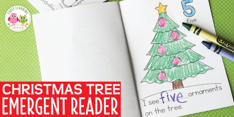 A Christmas Tree Printable for Your Kids:  A Free Counting Book