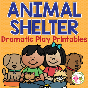 better than a pet store! Set up an animal shelter dramatic play area