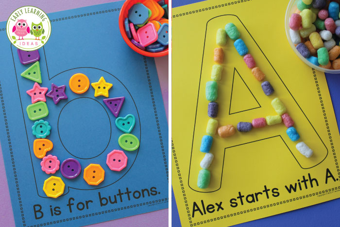 9 alphabet activities for preschoolers - Early Learning Ideas