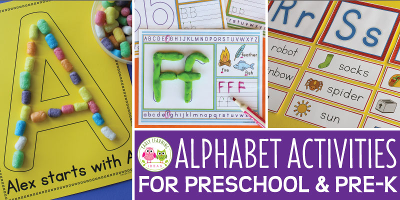 9 Fun Activities That will Help Your Kids Learn the Alphabet