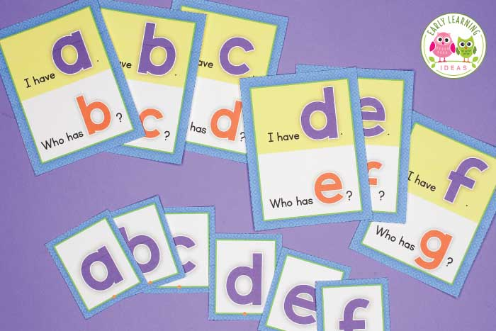 Check out these alphabet activities for preschoolers. Your kids will love these fun hands-on printables. Better than worksheets, these activities and ideas can be used as whole group, small group, and independent activities with your preschool, kindergarten, and pre-k classroom. Add variety to your literacy teaching with alphabet recognition, letter sounds, tracing, writing, sensory and playdough activities. #alphabetactivities #preschool #prek #literacy