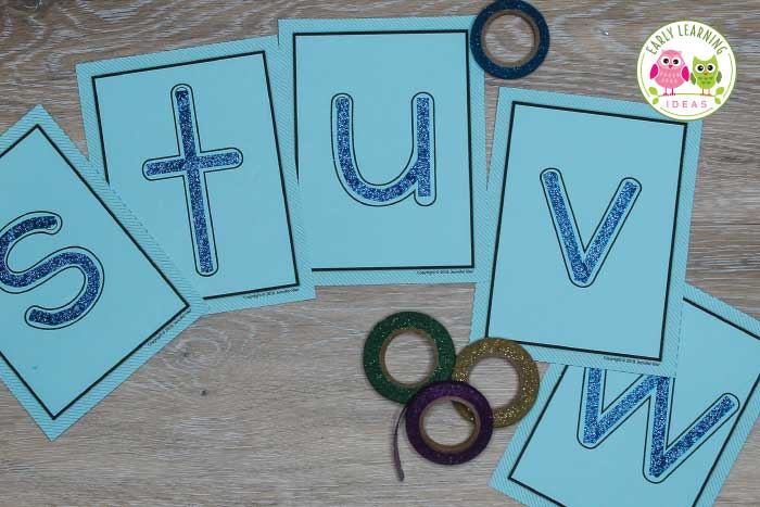Your kids will love running their fingers over these fun tactile letters. Find lots of ideas to make DIY tactile cards for your literacy learning centers. Perfect for teaching the alphabet to kids in preschool and pre-k classroom. Better than sandpaper....this is a fun sensory experience. The ideas will work for sight words as well. #preschool #alphabetactivities #sensoryactivities
