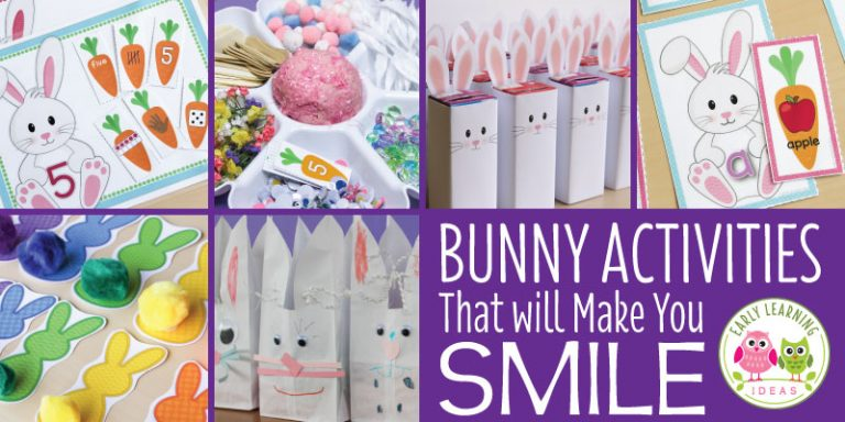 Bunny Activities That Will Make You Smile
