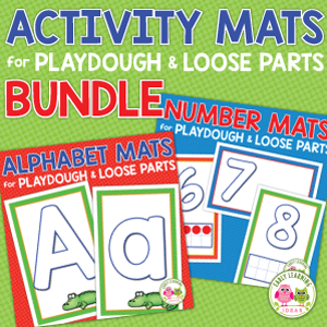 playdough mat bundle