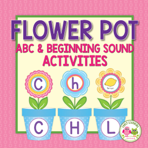 flower literacy activities