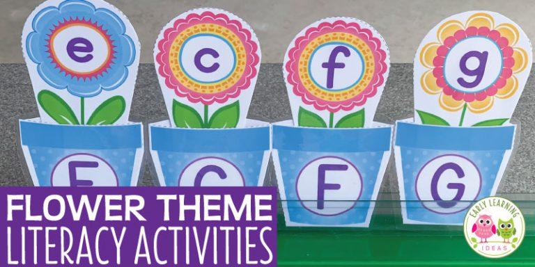 Flower Literacy Activities
