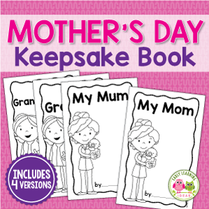 mothers day keepsake book