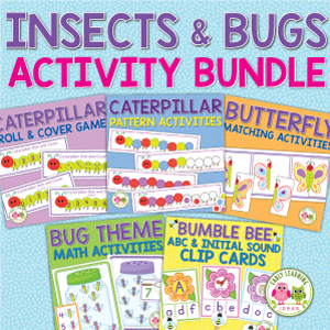 bug and insect activity bundle