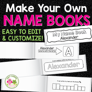 custom name books