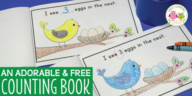 An Adorable and Free Counting Book That will Surprise Your Kids