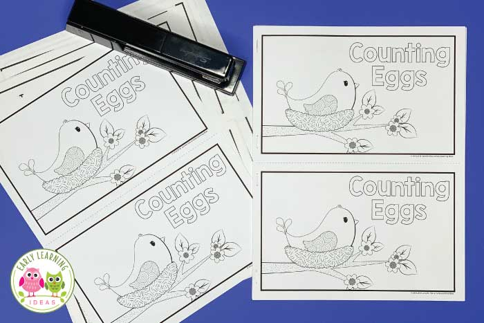 Your kids will love this adorable bird-themed free counting book. The emergent reader contains predictable text, counting from 0-5, and even a surprise ending that will delight your kids. Two versions are included. Kids can read the 0-5 number book or they can print the numeral or number word on the pages. Perfect for your spring theme, bird theme, forest animal theme unit or lesson plans in your preschool, pre-k or kindergarten classroom. Download your freebie today. #preschool