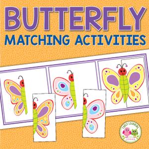 butterfly matching activity