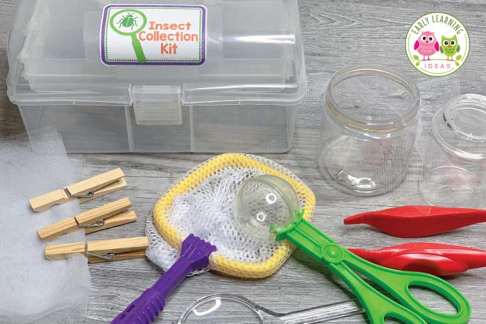 Find ideas to create an entomology lab dramatic play area set up. Your kids will love playing and learning in an insect research lab dramatic play center. Perfect for your insects and bugs theme, spring theme, summer theme, or outdoor themes in your preschool or pre-k classroom. Many ideas for fun, hands-on learning activities and printables are included...perfect for early childhood play-based learning. Math, science, literacy, STEM, and STEAM in one play center. #dramaticplay #preschool