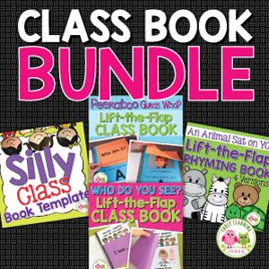 class book template bundle