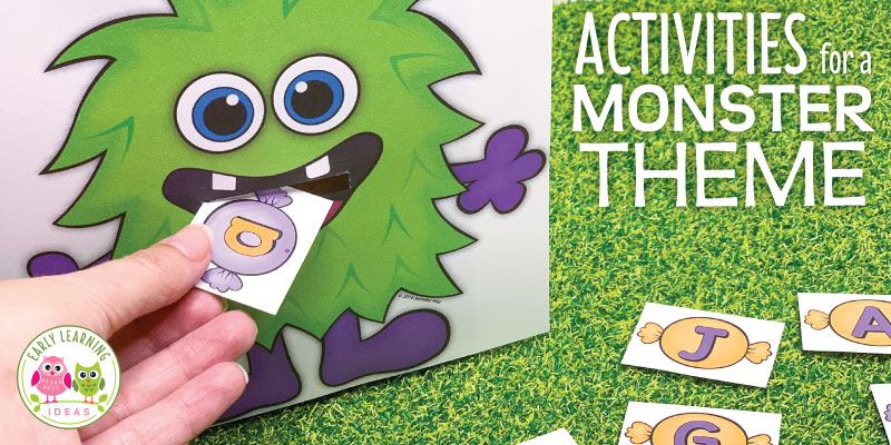 How To Use These Fun Monster Activities For Preschool Early Learning Ideas