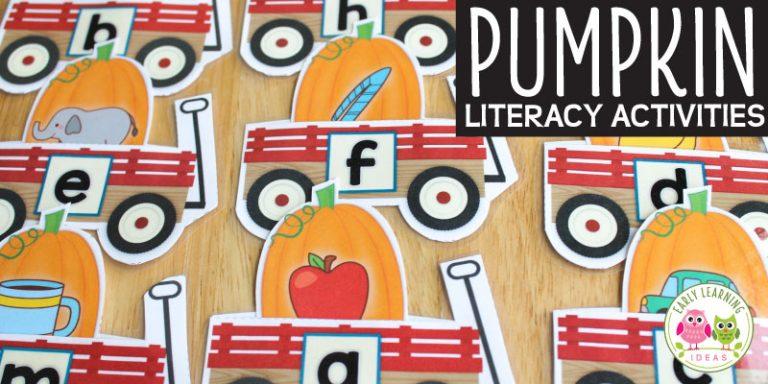 Pumpkin Alphabet Activities