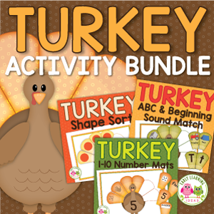 turkey activities for preschool