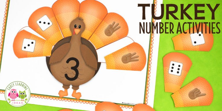 Turkey Math: An Easy Thanksgiving Number Activity