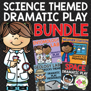 science theme dramatic play activities