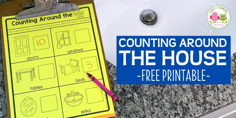 Counting Activities For Kids: Counting At Home [Free Printable] - Early  Learning Ideas