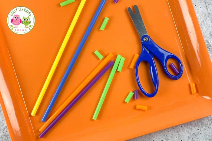 Find 45 ways to make cutting practice fun for your preschoolers. These scissor activities will help you motivate reluctant kids to work on scissor skills. Do your kids avoid using scissors? Use this list of easy and free ideas to find ways to encourage struggling kids to practice cutting with scissors. These fine motor activities are often more engaging than worksheets. Perfect for your art center or fine motor center in your homeschool, preschool, pre-k classroom or at home