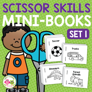 scissor skills activity for preschool